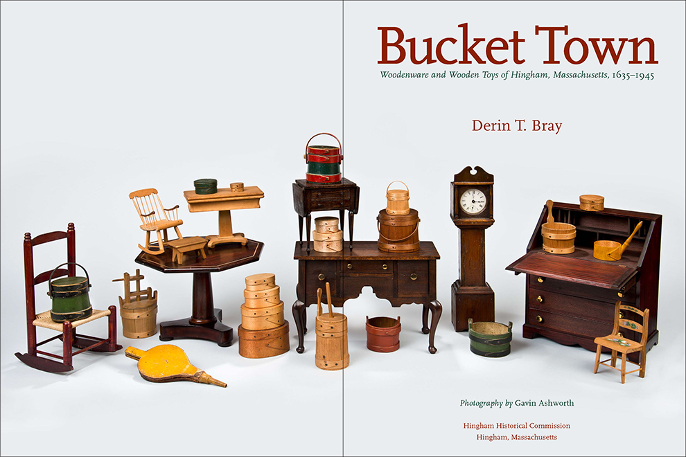 Bucket Town title page spread