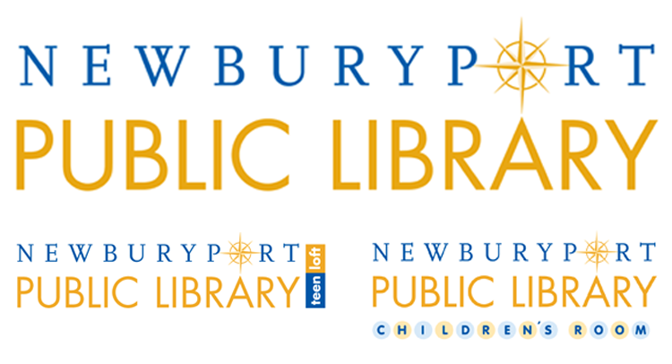 Newburyport Public Library stationery program Logo Program