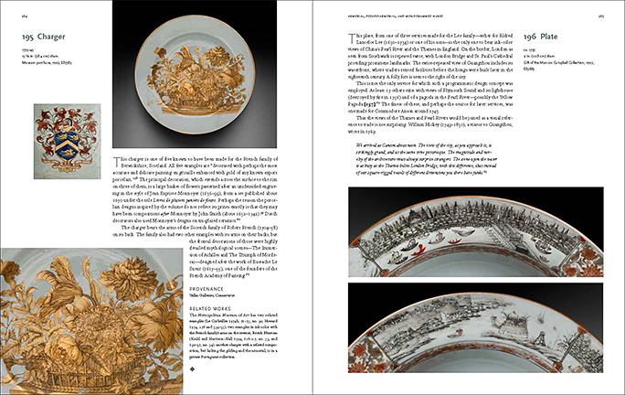 PEM Ceramics catalog text spread