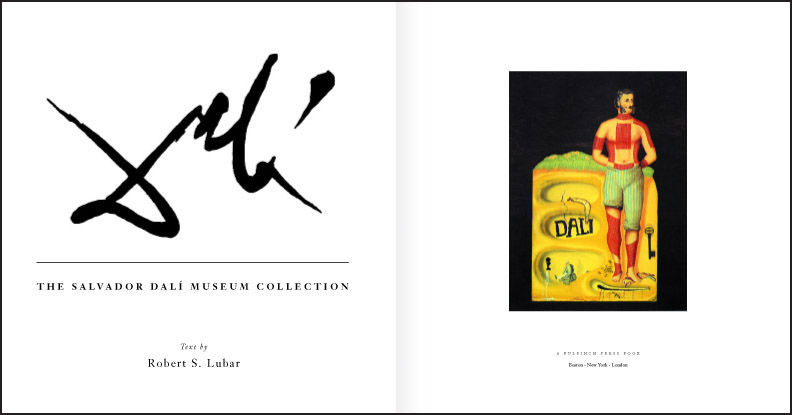 Dali title page spread
