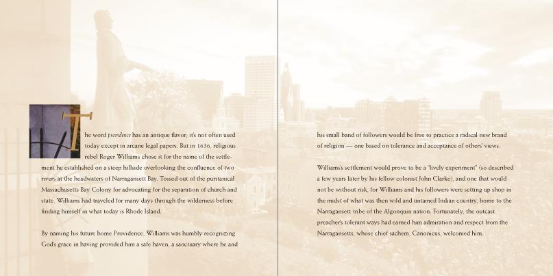Providence text spread 1
